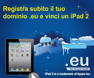 Register a .eu domain and win an IPAD2!