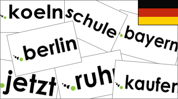 German domains: let's discover them all!